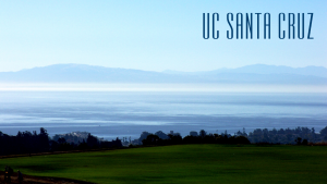 Monterey Bay from Campus Zoom Background Logo Top Right