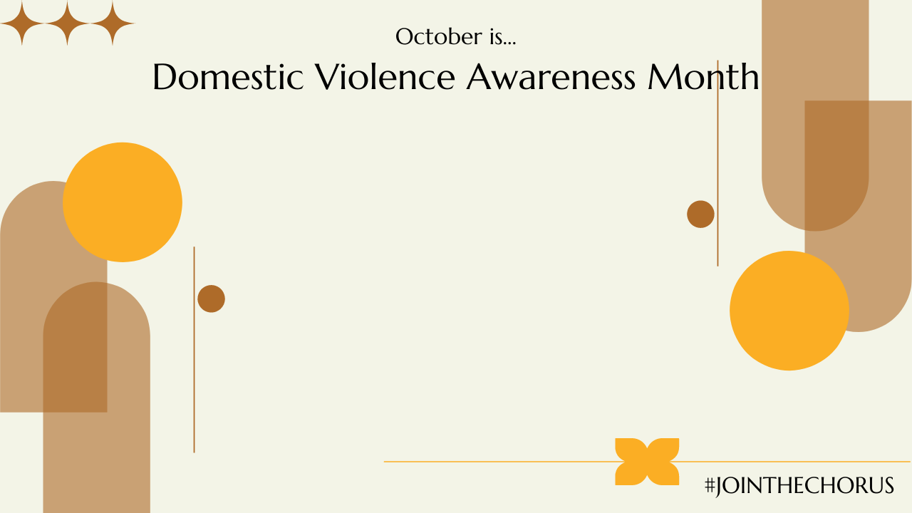 Domestic Violence Awareness Month Background 01