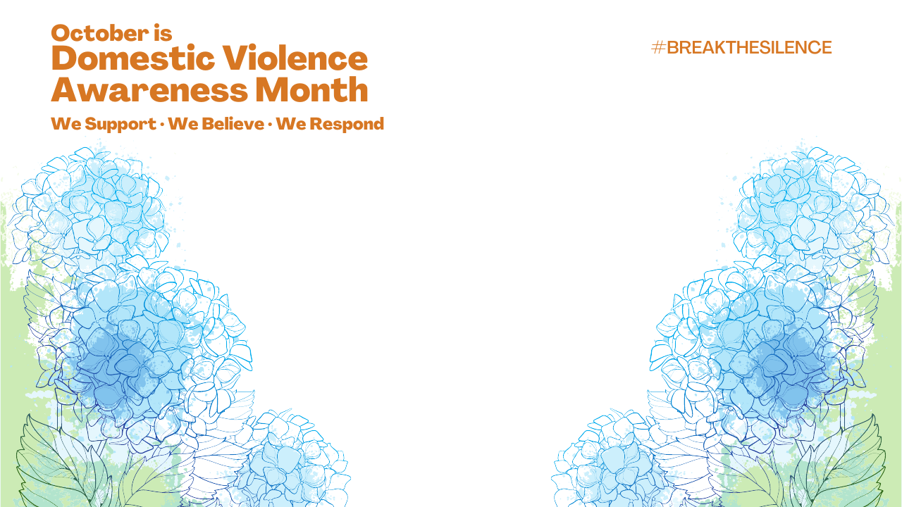 Domestic Violence Awareness Month Background 11